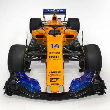 McLaren F1 2018 car - MCL33