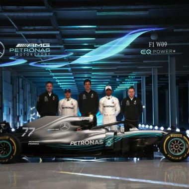 Mercedes 2018 car - F1 W09