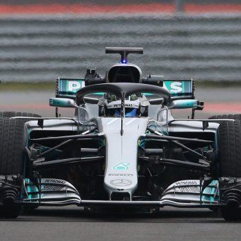 Mercedes F1 2018 car photography