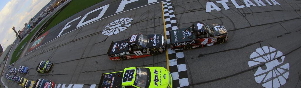 Atlanta Truck Race Starting Lineup: February 23, 2019
