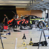 NASCAR garage area - Martin Truex Jr