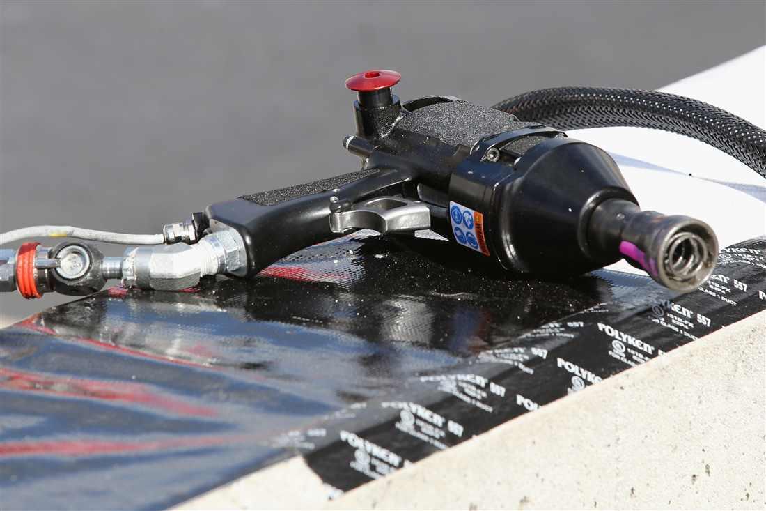NASCAR pit guns