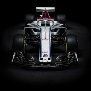 New Sauber F1 car