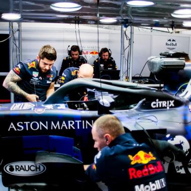 Red Bull Racing - F1 Halo