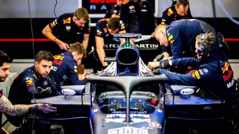 Red Bull Racing F1 photos