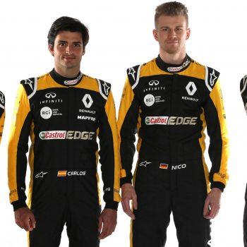 Renault Sport drivers
