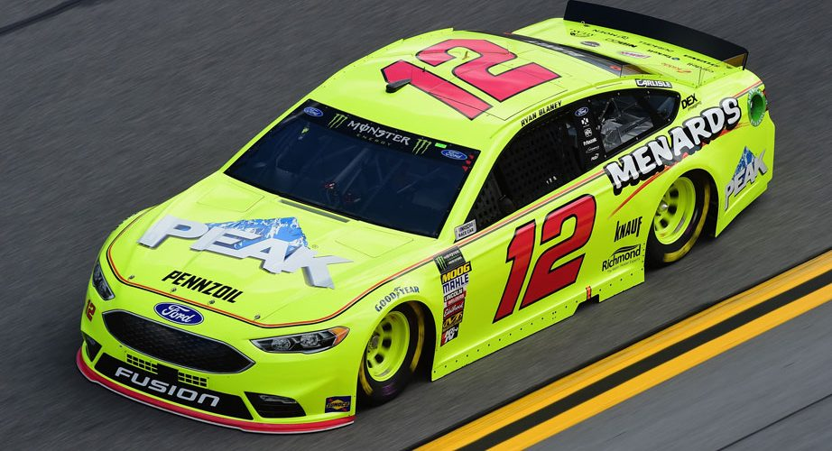 Ryan Blaney - Daytona Practice