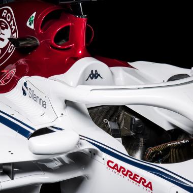 Sauber F1 Car - Halo