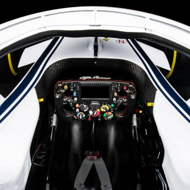 Sauber F1 car 2018