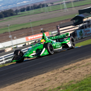 Spencer Pigot at Sonoma Raceway - Ed Carpenter Racing