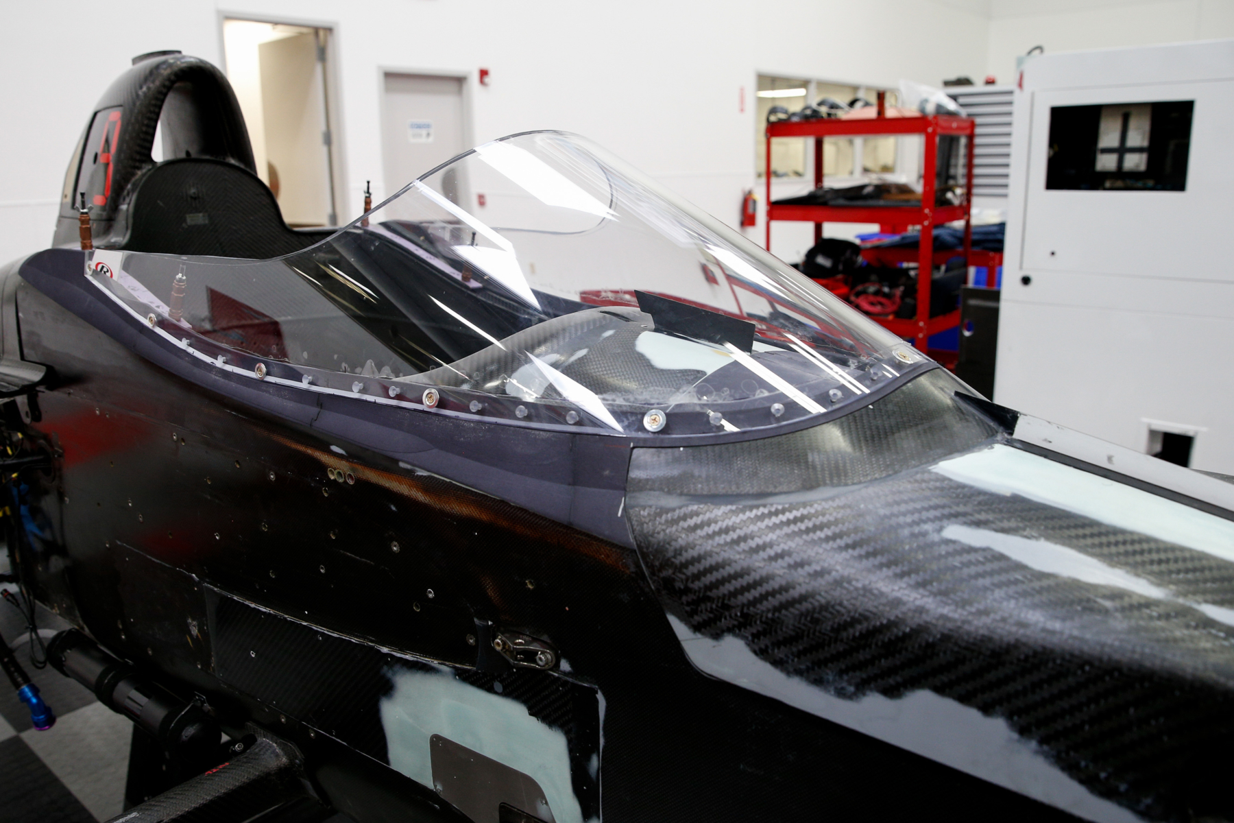 Verizon Indycar Series windscreen