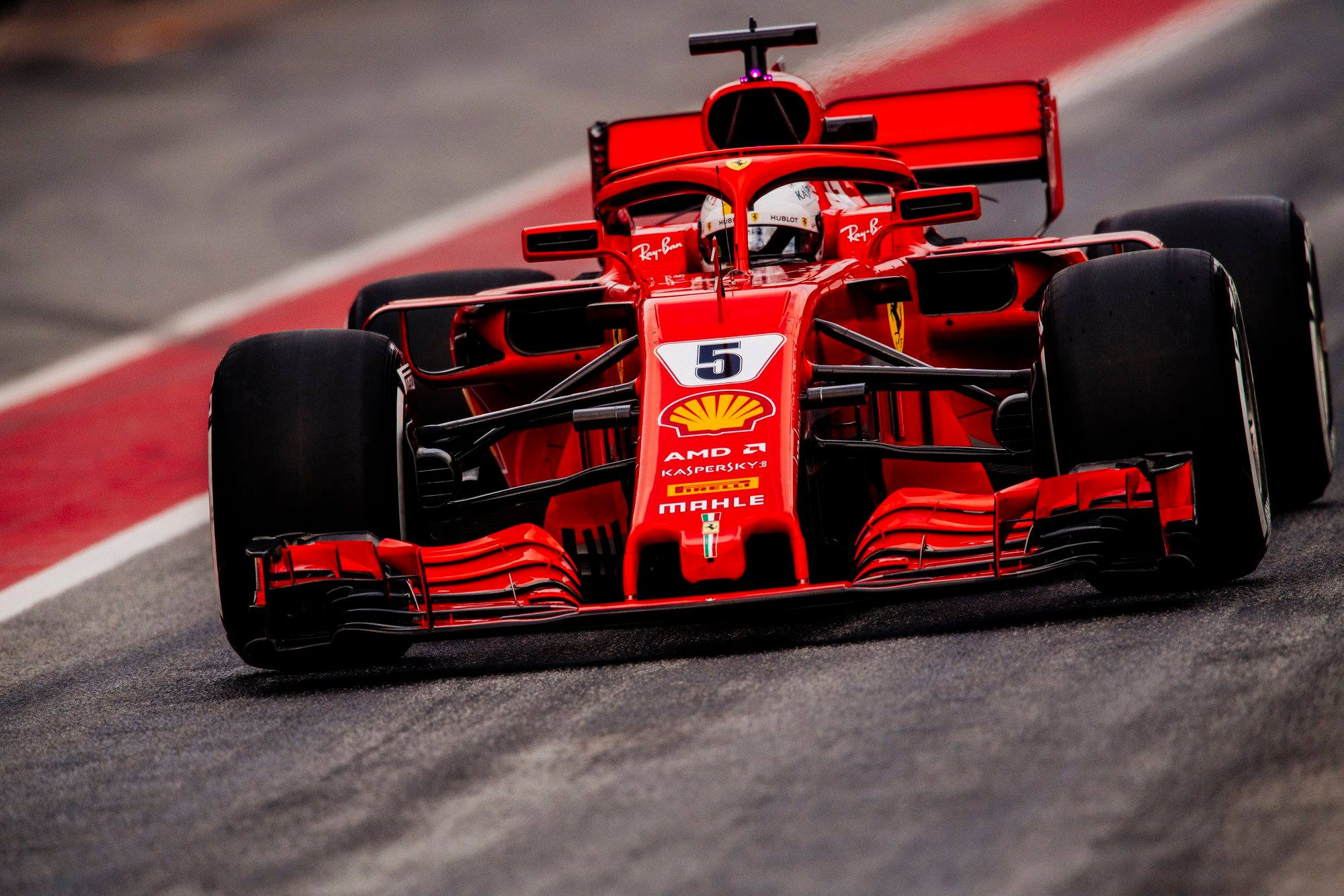 2018 Scuderia Ferrari car