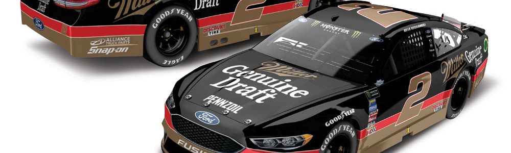 2018 Brad Keselowski Darlington Raceway throwback released