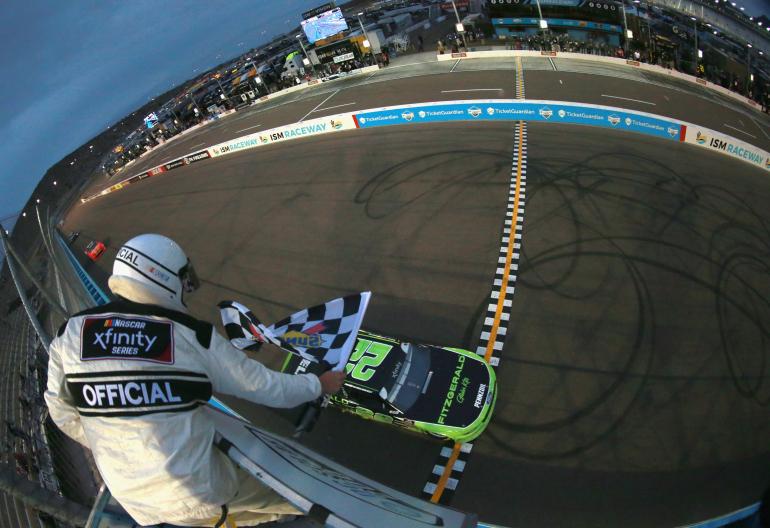 Brad Keselowski wins ISM RAceway - NASCAR Xfinity Series