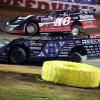 Brandon Overton and Scott Bloomquist at Boyd's Speedway 1487