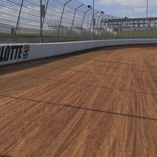 Charlotte Dirt Track on iRacing