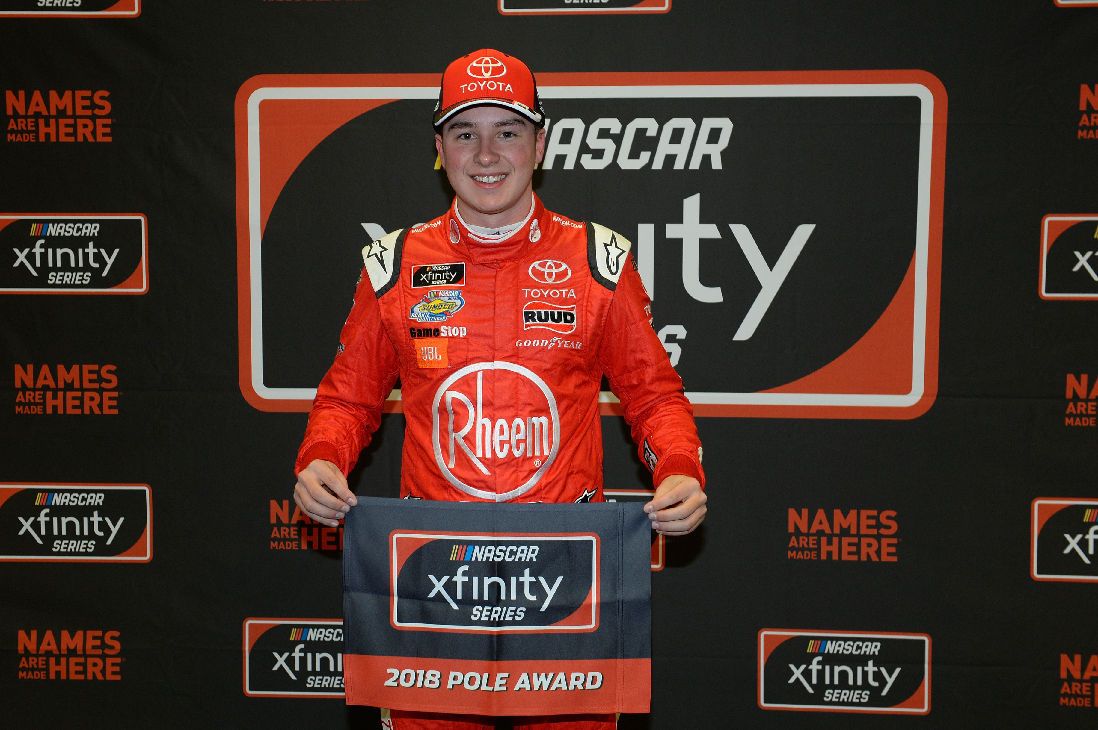 Christopher Bell wins the pole at Las Vegas Motor Speedway