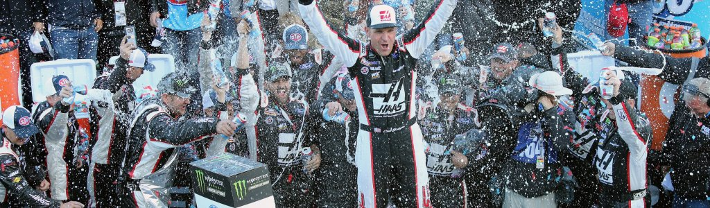 Clint Bowyer was a walking party after his NASCAR win
