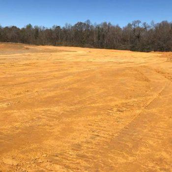 Daisy Speedway - Dirt track construction
