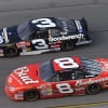 Dale Earnhardt Jr and Dale Earnhardt Sr