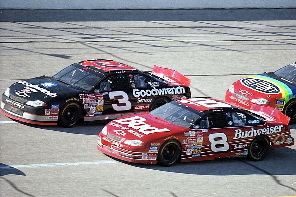 Dale Earnhardt Sr and Dale Earnhardt Jr - NASCAR
