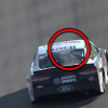 Kevin Harvick Rear Window dent