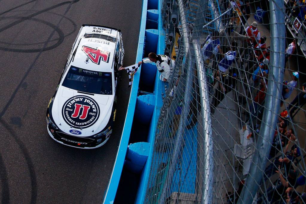 Kevin Harvick stripped of berth in NASCAR title race