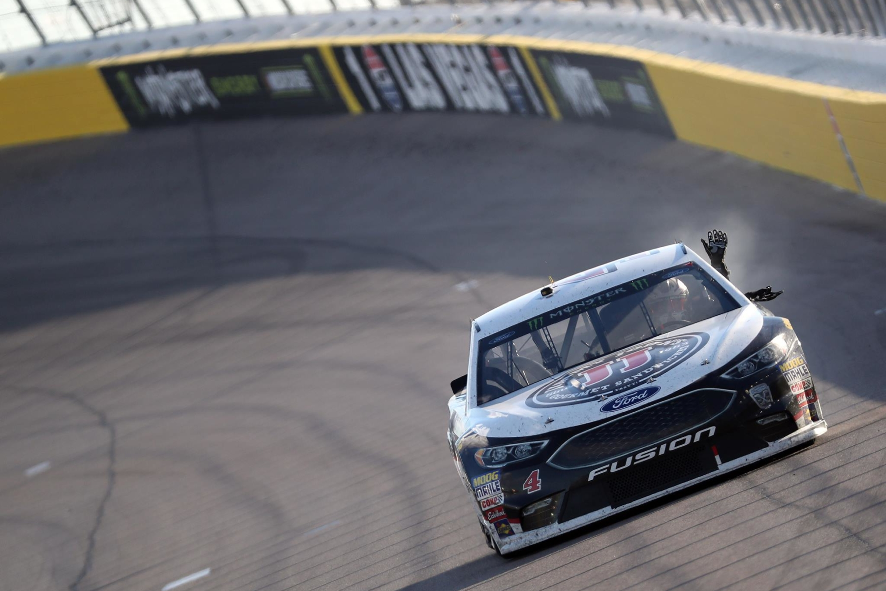 Kevin Harvick wins at Las Vegas Motor Speedway - NASCAR