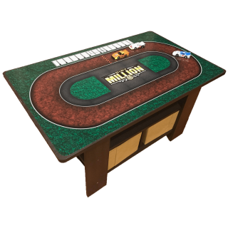 Kids Dirt Track Toy Table