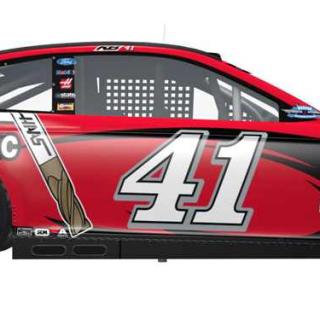 Kurt Busch Darlington Raceway throwback paint scheme
