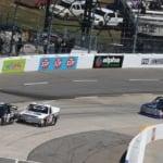 Kyle Benjamin and John Hunter Nemechek at Martinsville Speedway