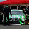 Kyle Busch - NASCAR Inspection at Auto Club Speedway