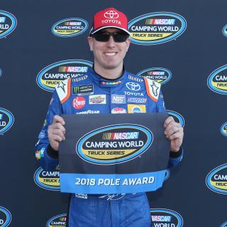 Kyle Busch - NASCAR Truck Series pole at Las Vegas