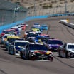 Kyle Busch and Kevin Harvick at ISM Raceway