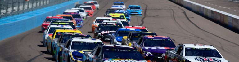 Kyle Busch feels the new rules have slowed them down to SHR