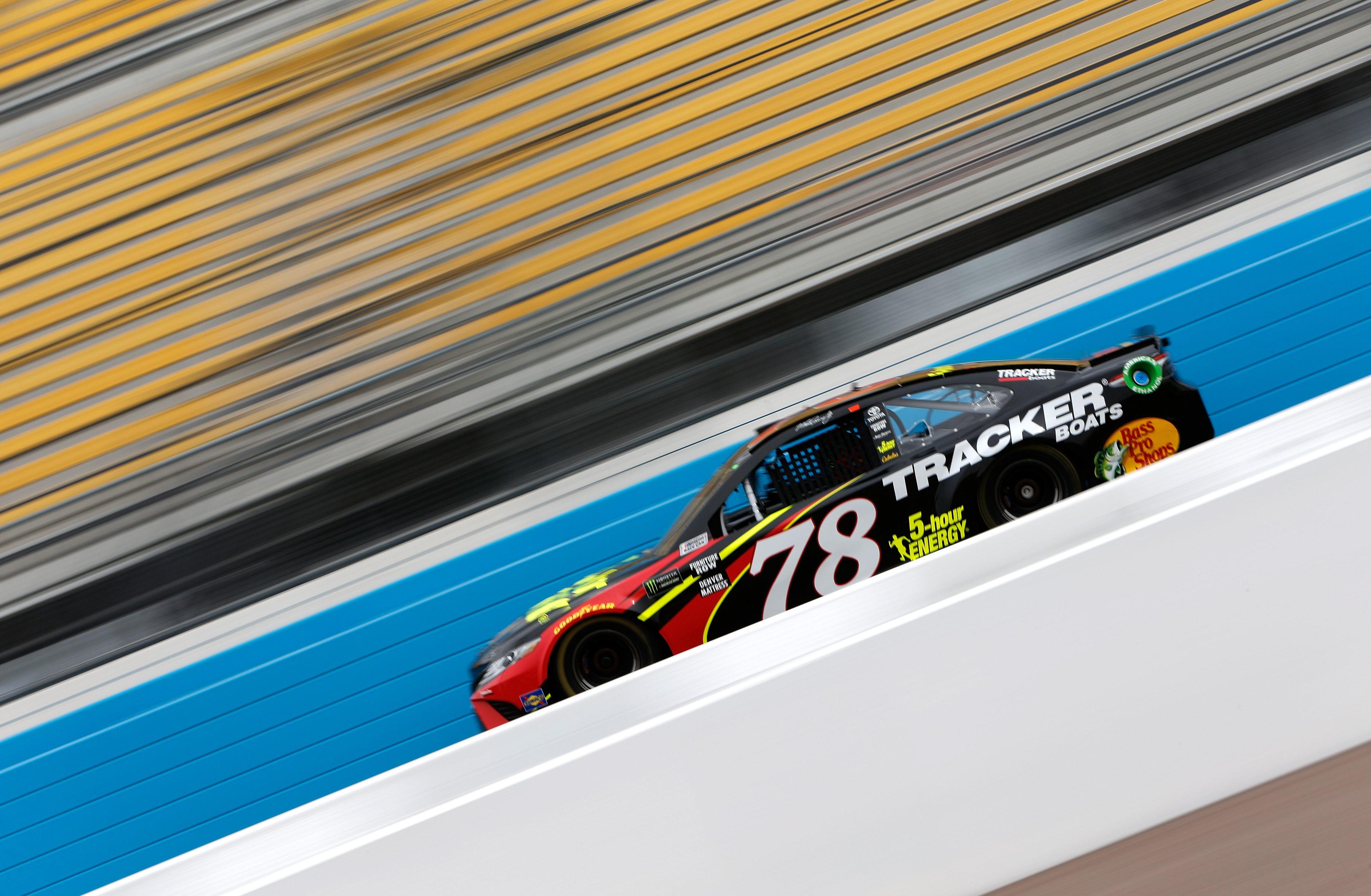 Martin Truex Jr at ISM Raceway