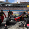 Martin Truex Jr pit stop - Furniture Row Racing crew - ISM Raceway