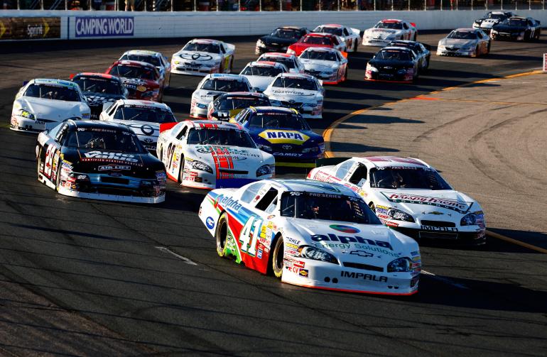NASCAR K&N Pro Series at New Hampshire Motor Speedway