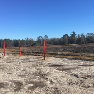 New dirt racing track in Alabama