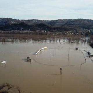 Portsmouth Raceway Park flooding - 2018