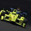 Simon Pagenaud at Indianapolis Motor Speedway