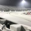 Snow at Martinsville Speedway