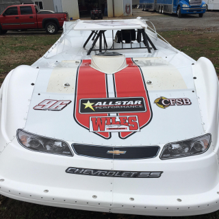 Tanner English - Dirt Late Model Nose