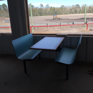 Tri County Speedway concession seating