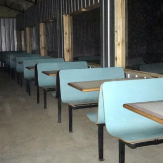 Tri-County Speedway concession seating