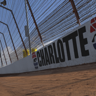 iRacing - Charlotte Dirt Track screenshot