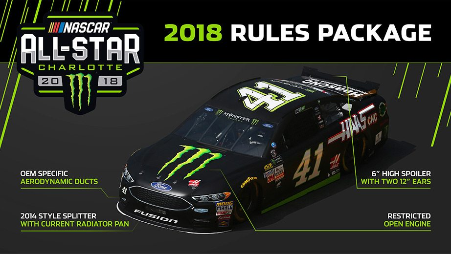 2018 NASCAR All-Star restrictor plate package