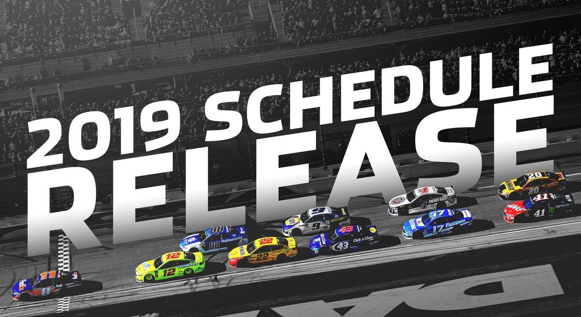 2019 NASCAR Cup Series schedule