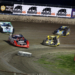Bobby Pierce, Josh Richards, Chris Simpson and Frank Heckenast Jr at Tri-City Speedway 4424