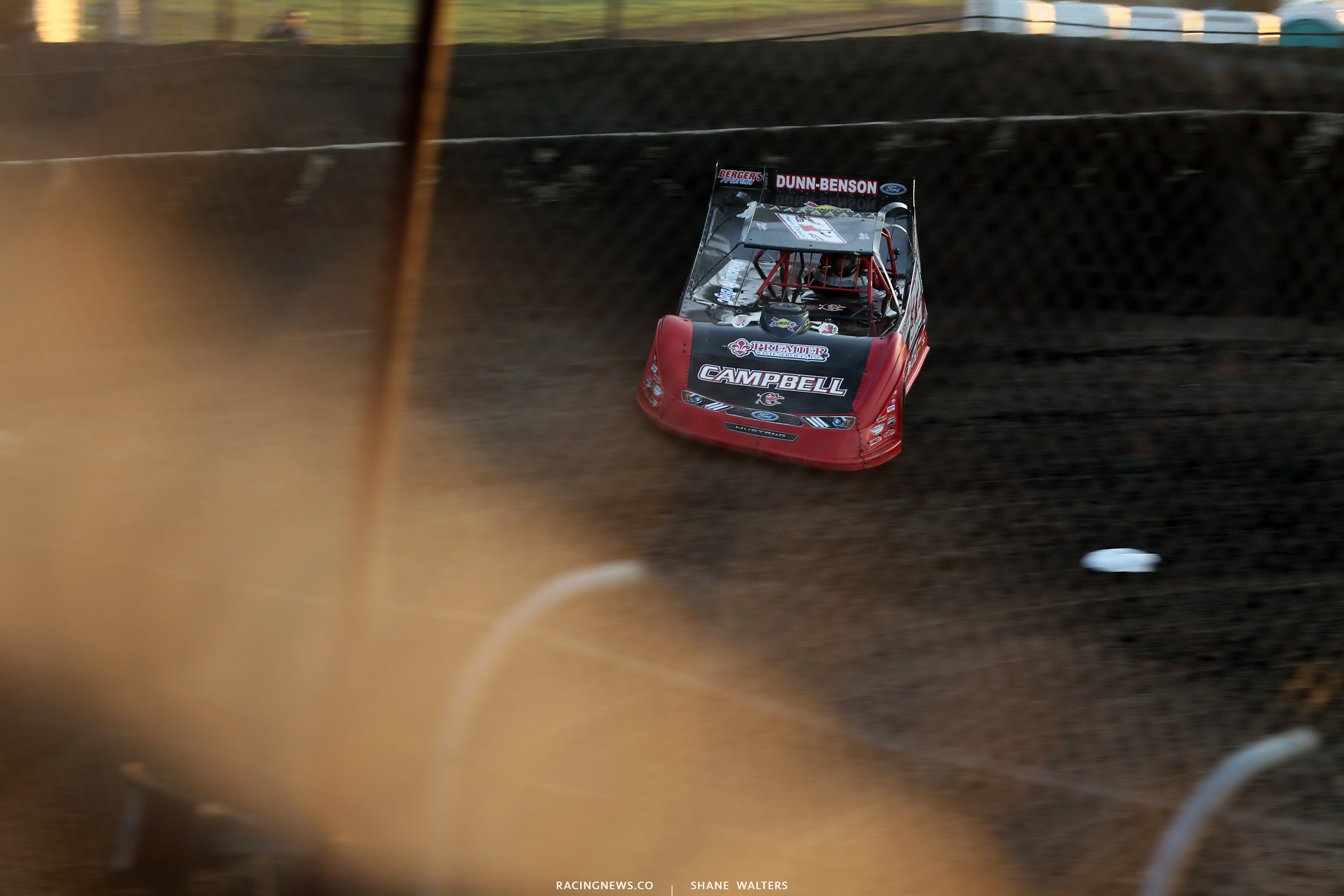 Bobby Pierce at Macon Speedway 5104